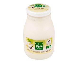 VRAI Yaourt Vanille 500G Bio