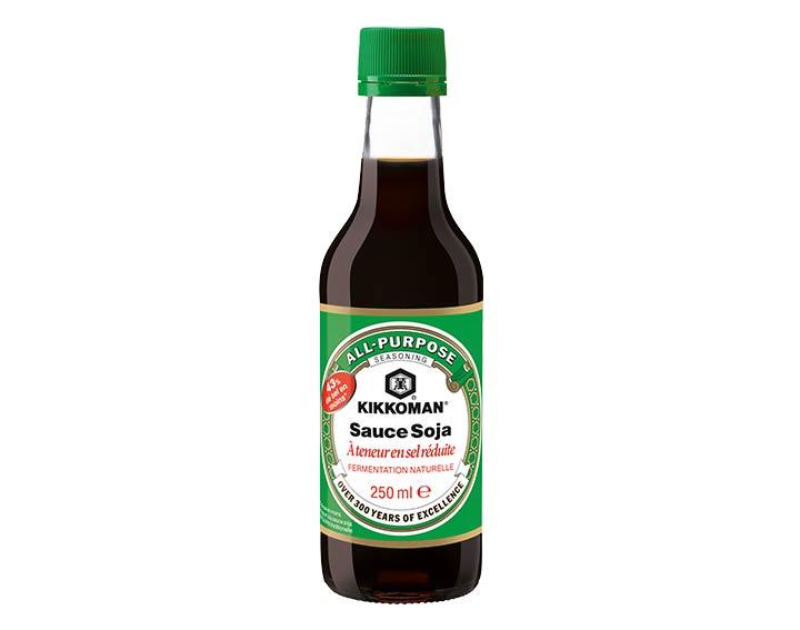 Sauce soja à teneur réduite en sel - 250ml