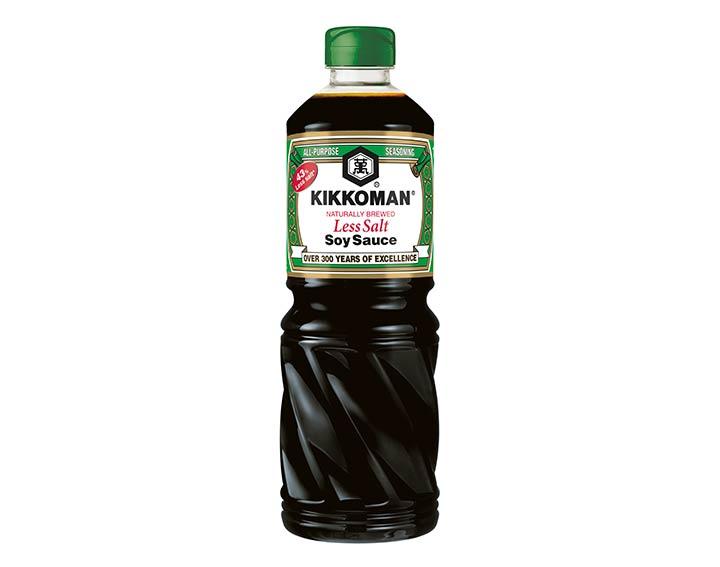 Sauce soja à teneur réduite en sel - 1L