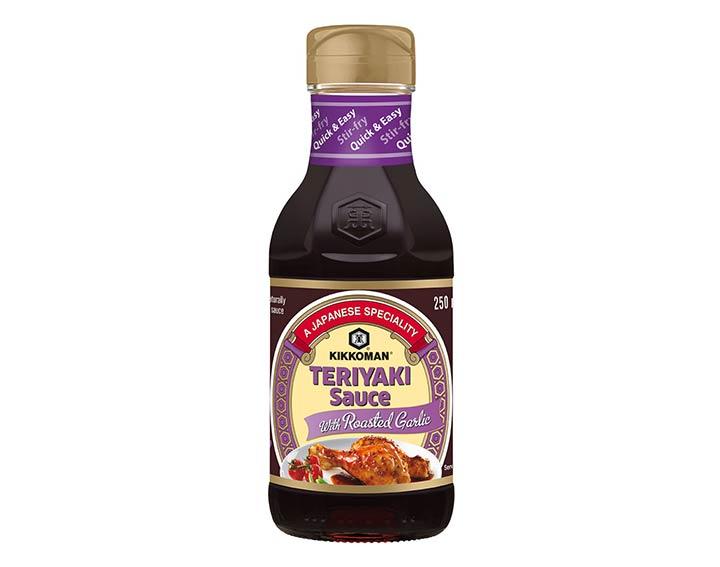Sauce Teriyaki BBQ Ail Confit - 250ml