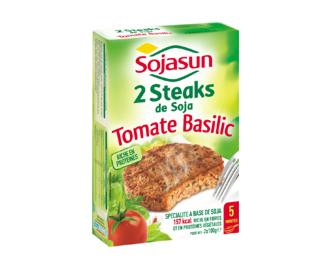 2 Steaks de Soja Tomate-Basilic