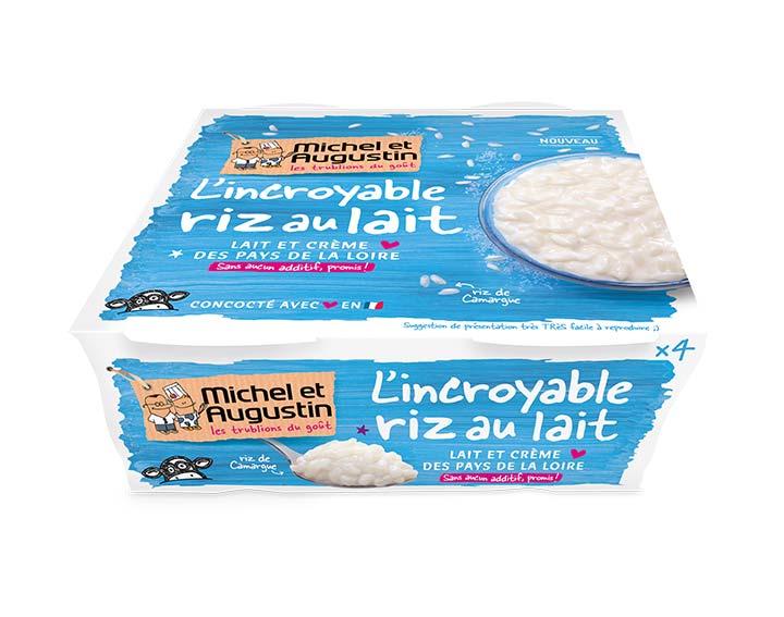 Riz au lait nature 4x100g