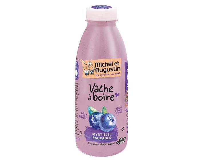Vache à boire Myrtille 500ml