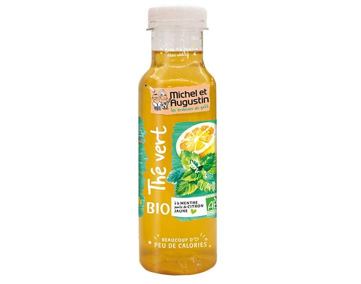 Thé vert menthe citron 33cl BIO