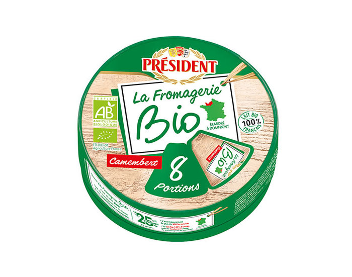 Camembert portions La Fromagerie Bio