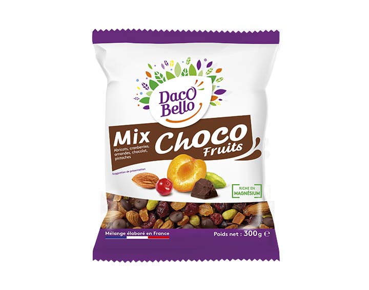 Mix Choco Fruits Daco Bello 300g