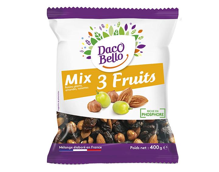 Mix 3 Fruits Daco Bello 400g
