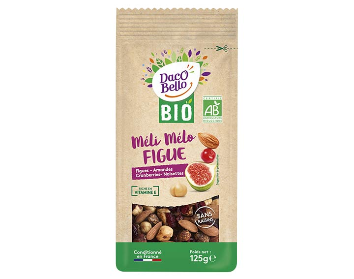 Méli Mélo Figue Daco Bello Bio 125g