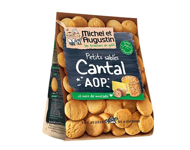 Sablés salés Cantal AOP noix de muscade 100g