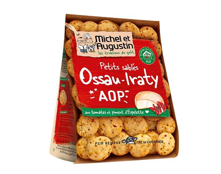 Sablés salés Ossau Irraty AOP tomates piment 100g