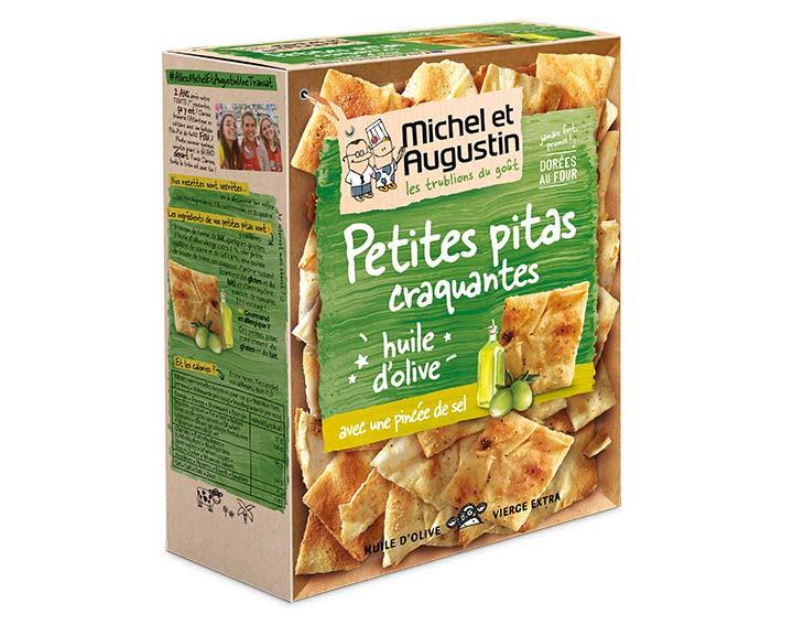 Petites Pitas huile d'olive 90g