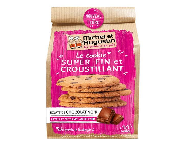 Cookie fin & croustillant au chocolat noir 140g