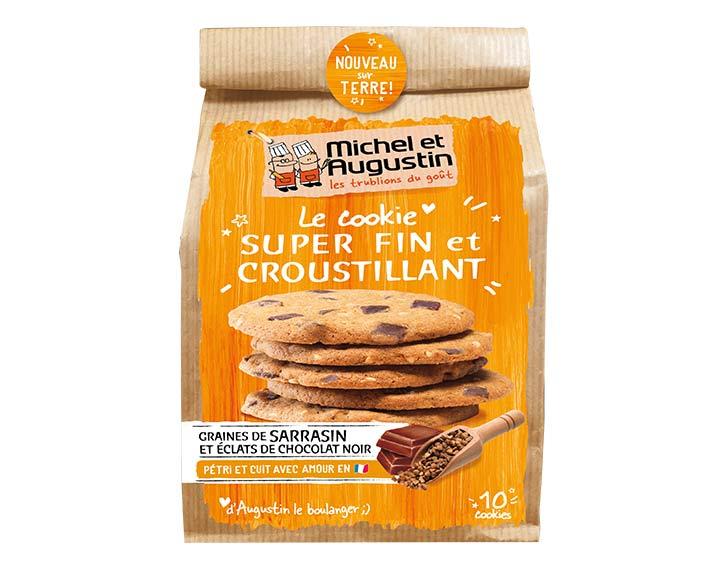 Cookie fin & croustillant sarrasin 140g