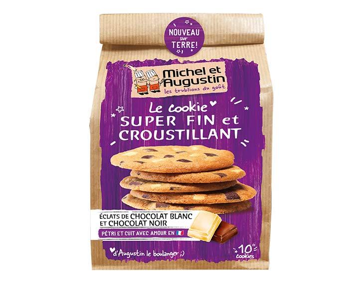 Cookie fin & croustillant au deux chocolats 140g