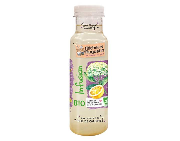 Infusion fleur de sureau et citron BIO 33cl