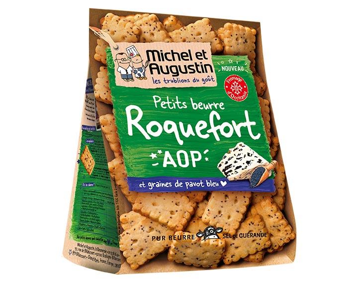 Petits Beurre Roquefort AOP 100g