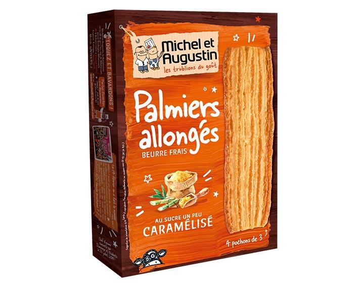Palmiers allongés Caramélisé 120g