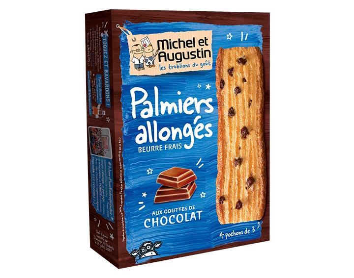 Palmiers allongés Chocolat 120g