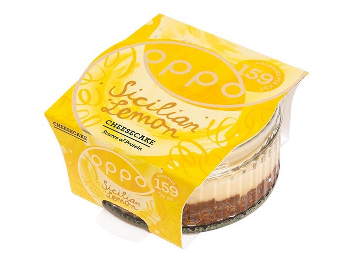 Sicilian Lemon Cheesecake 75g