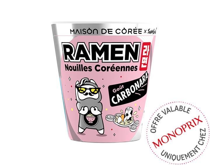 Ramen coréen goût Carbonara 65g