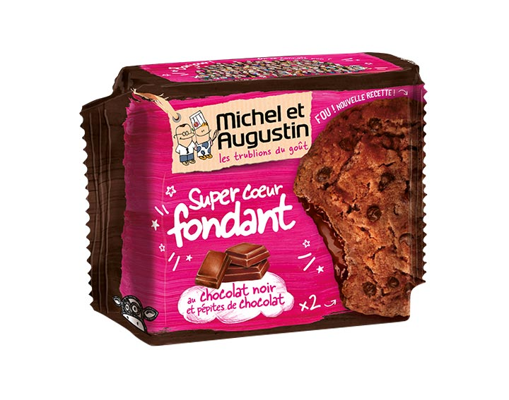 Super cœur fondant chocolat noir 60g