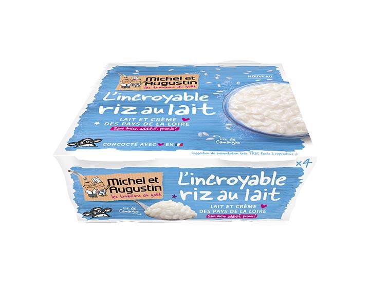 Riz au lait 4x100g