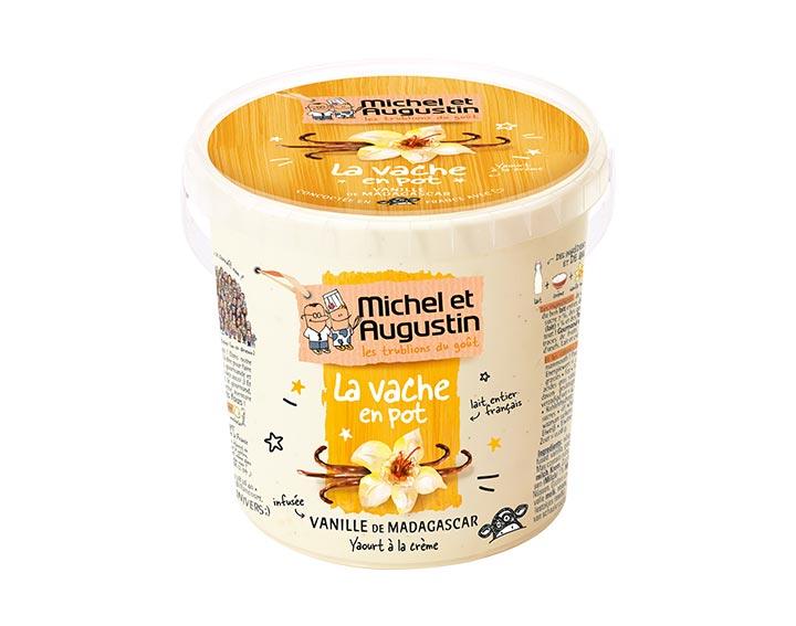 Vache en pot Vanille 500g