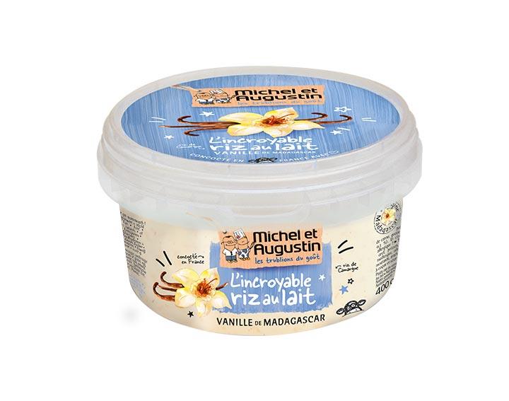 Riz au lait Vanille 400g