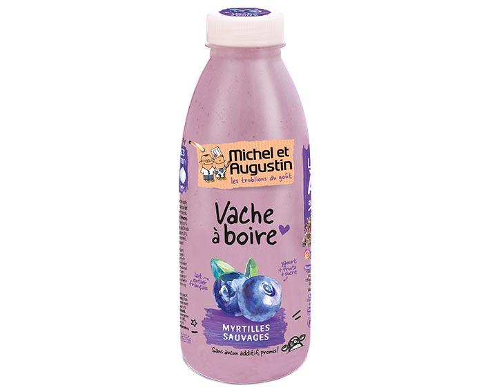 Vache à boire Myrtilles