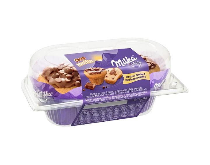 Boîte de 2 Muffins Milka®