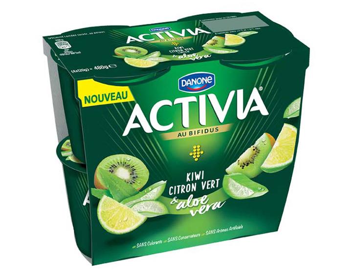 Kiwi/Citron Vert/Aloe Vera x4