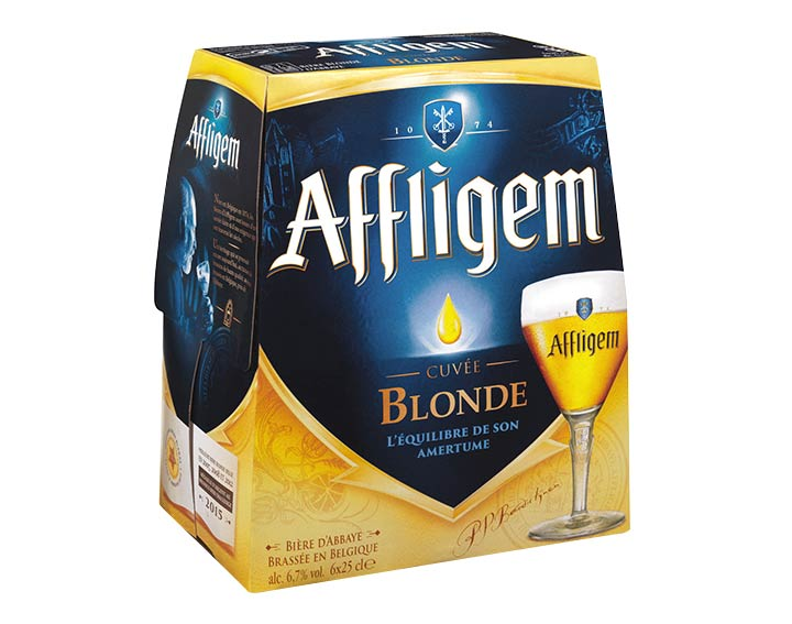 Affligem blonde 6x25cl