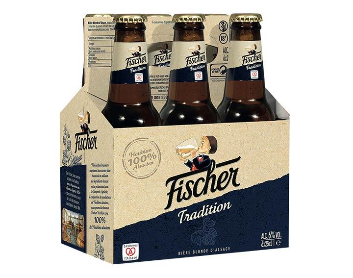 Fischer Tradition 6x25cl