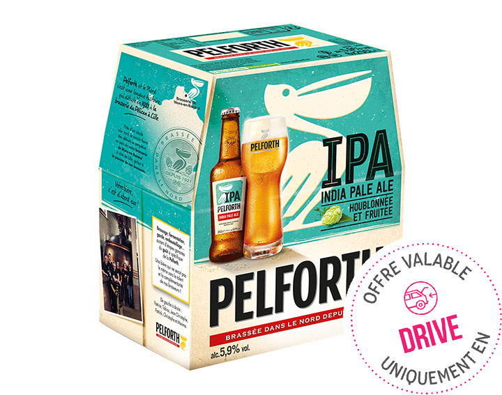 Pelforth IPA 6x25cl