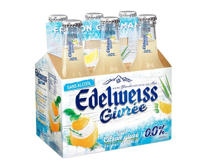 Edelweiss Givrée sans alcool 6x25cl