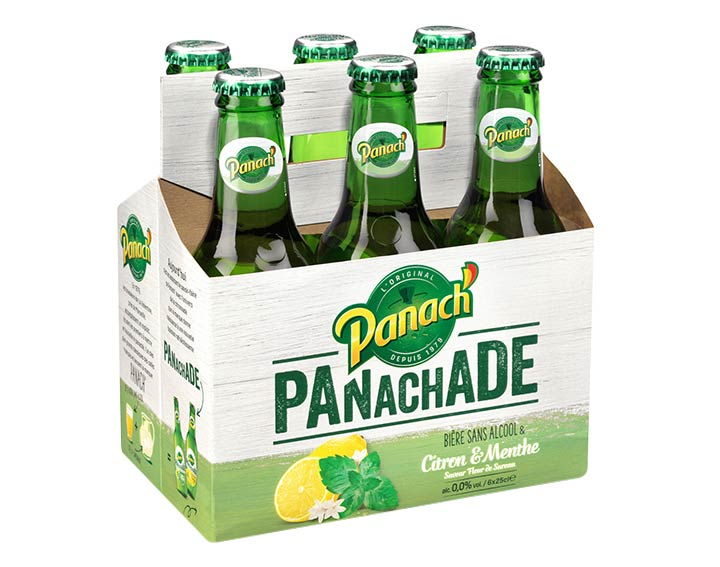 Panachade sans alcool 6x25cl