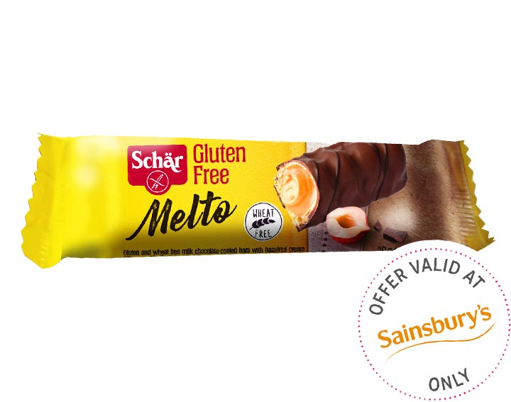 Melto Chocolate Hazelnut Bar 30g