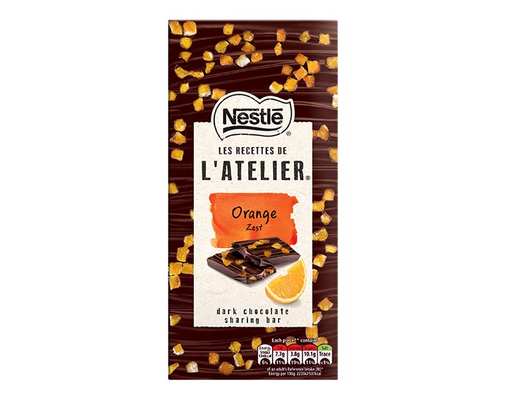 Orange Zest Dark Chocolate 115g