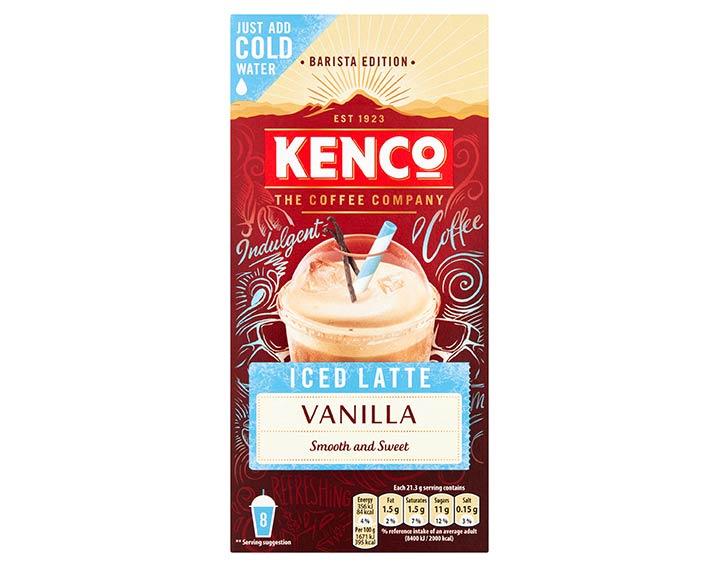 Instant Iced Latte Vanilla 8x21.5g