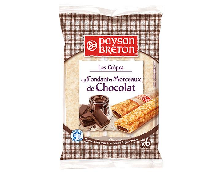 Les Crêpes fourrées au Chocolat