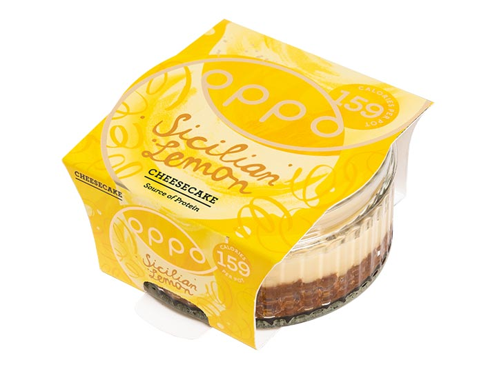 Sicilian Lemon Cheesecake 75g