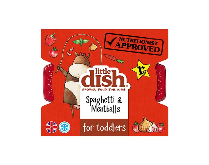 Spaghetti & Meatballs for Toddlers 200g