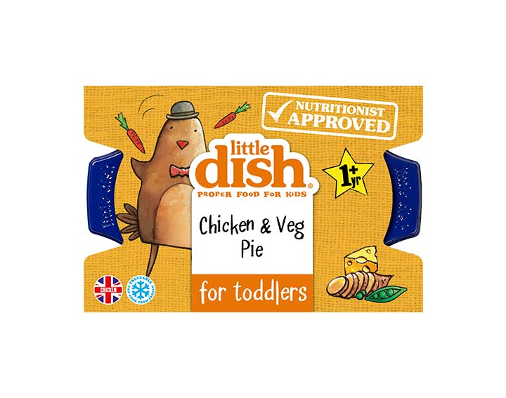 Chicken & Veg Pie for Toddlers 200g