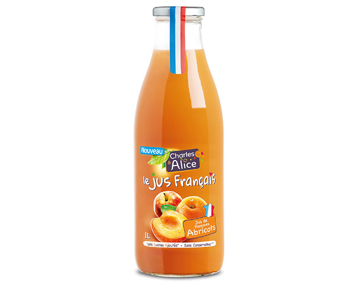 Charles & Alice Jus de Pommes Abricots