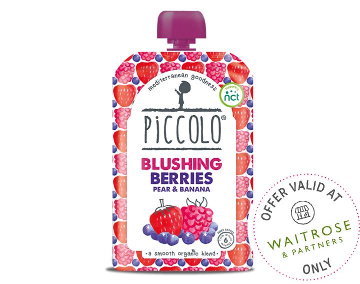 Organic Blushing Berries 100g