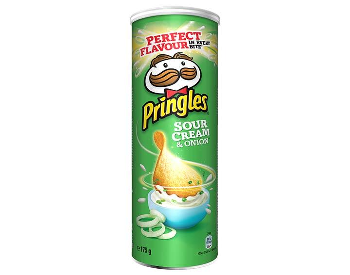 Pringles saveur Sour Cream & Onion 175g