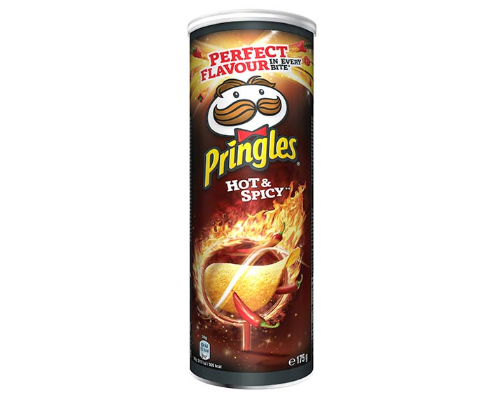 Pringles saveur Hot & Spicy 175g