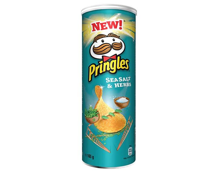 Pringles saveur Sea Salt & Herbs 165g