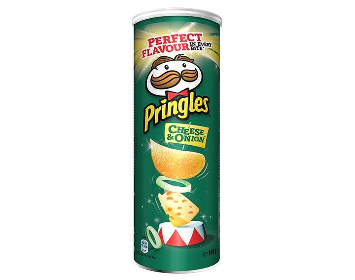 Pringles saveur Cheese & Onion 175g