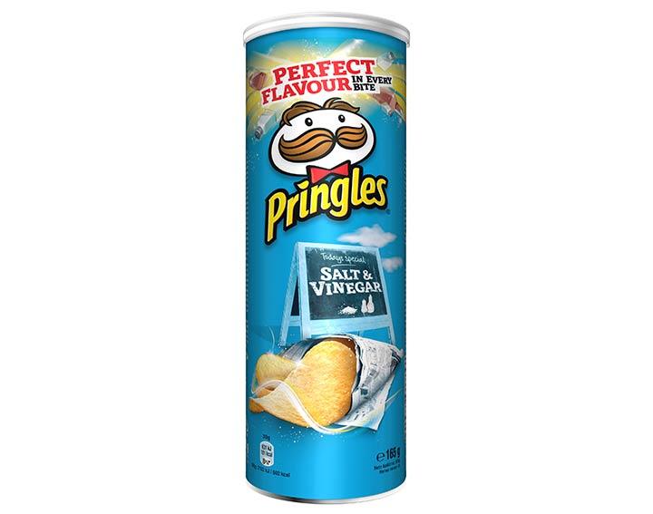 Pringles saveur Salt & Vinegar 165g